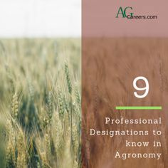 9 professional designations to know in agronomy