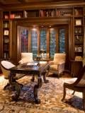 Classic Traditional Residence - traditional - home office - orange county - Harte Brownlee & Associates Interior Design Home Office Design, Home Office Decor, Home Interior Design, House Design, Home Decor, Office Ideas, Office Layouts, Office Designs, Design Room