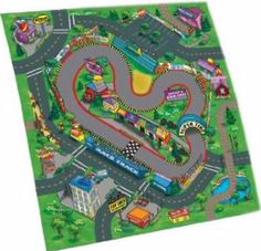 New childs #childrens car race #track road #playmat + 3 toy cars felt safe play m,  View more on the LINK: 	http://www.zeppy.io/product/gb/2/401185452540/