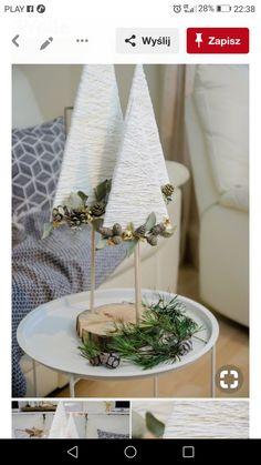 Winter Christmas, Christmas Crafts, Table Decorations, Home Decor, Wood, Xmas, Handmade Christmas Crafts, Homemade Home Decor, Xmas Crafts