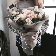 """""""I missed the flowers you fill our home with, and thought that if I sent these, maybe you can think of me when walk through the door after work? 10 weeks, I love you Marzipan ;P"""" - Chris"""