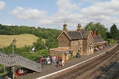 Severn Valley, Toot, Sheds, Trains, Engine, Buildings, Arch, Cabin, Mansions