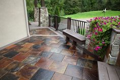 """""""The New Generation of Decking"""" Transform your outdoor living space with DekTek Tile's luxury tile decks! The beautiful concrete deck tiles create the ultimate outdoor experience with it's low-maintenance, no-fade, & non-combustible decking material! Visit dektektile.com or call 218-380-9330 for more information on creating your own elegant outdoor oasis!"""