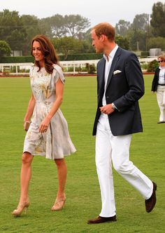 william and kate- love the polo field shots!