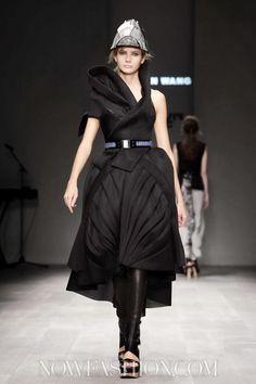 Haizhen Wang at Fashion Fringe SS 2013