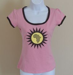 Native Soccer Women's Limited Edition Pink T-Shirt Top Size S NWT Short Sleeve #Native #GraphicTee