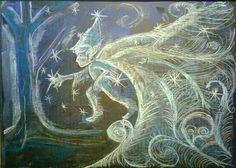 Blackboard Drawing, Chalkboard Drawings, Chalk Drawings, Chalkboard Art, Art Drawings, Ant Art, Chalk Writing, Maila, Winter Wonder