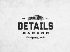 Details Garage by Tony Kuchar