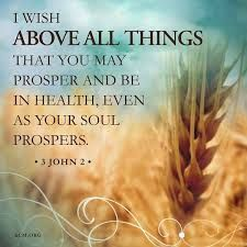 i wish above all that you prosper and be in health - Google Search