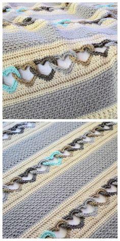 crochet linked heart pattern