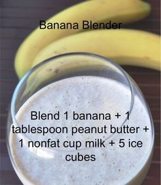100 Days of Smoothies: 4/100 Banana Blender                                                       Click here to download         ...