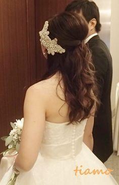 ドレスから和装にチェンジ♡可愛い花嫁さまの素敵な一日 の画像|大人可愛いブライダルヘアメイク『tiamo』の結婚カタログ