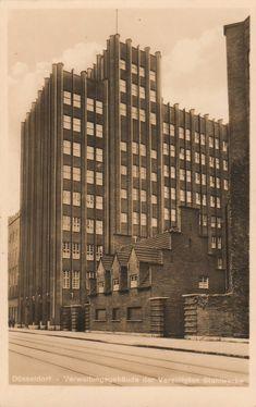 Bonnartz, Paul - Verwaltungsgebäude der Vereinigten Stahlwerke, Düsseldorf (Headquarters of the United Steel Works, Düsseldorf), 1922-1925