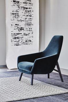 Montis | Enzo | Easy chair | Fabric Harald by Kvadrat | Design: Geert Koster