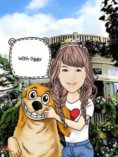 With Oggy