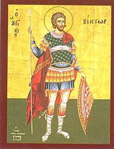 St. Victor of Marseilles, martyr, pray for us and for torture victims, cabinet makers and against lightning.  Feast day July 21.