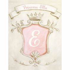 Vintage Princess Canvas Reproduction