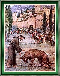 pictures of st francis with animals | Do All Dogs Go To Heaven? El Día de San Francisco de Asís.