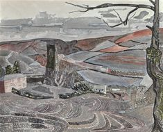 NEOT, CORNWALL, NO. 2 By Edward Bawden; gouache, watercolour, pencil and pen and ink on paper; Access more artwork lots and estimated & realized auction prices on MutualArt. Holidays In Cornwall, Wood Engraving, Gouache, Printmaking, Illustrators, Book Art, Art Gallery, Artsy, Watercolor