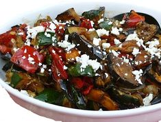 Mediterranean Grilled Vegetable Salad