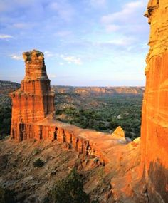 Palo Duro Canyon, The Lighthouse.