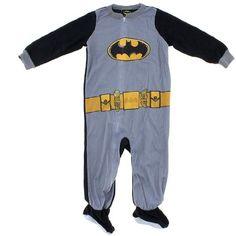 Batman Pajamas - Footie & Two Piece