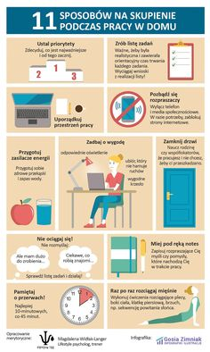 How to stay focused when working from home - infographic College Checklist, Languages Online, Foreign Languages, Fit Girl, E Mc2, Classroom Language, Study Motivation, Study Tips, Self Development