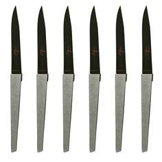 Jean Michel Wilmotte Steak Knives for Cyril Lignac by Forge de Laguiole