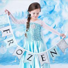 Frozen-Inspired Queen Elsa // Frozen Birthday Party