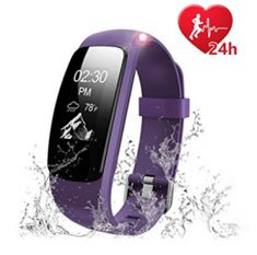 Fitness Tracker Heart Rate Monitor Watch, Letscom Waterproof Activity Tracker with Calorie Counter Pedometer Watch for Kids Women Men - Others Key Features: Call Alert: Device will vibrate and show on screen when there is an incoming call, you can ch Fitness Watches For Women, Watches For Men, Sport Watches, Best Fitness Watch, Best Fitness Tracker, Heart Function, Calorie Counter, Aerobics Workout, Heart Rate Monitor