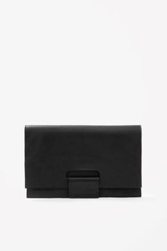 COS Leather clutch