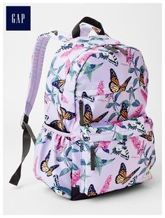 Printed senior backpack - Meet the bigger + better cool-kid accessories for every size, habit and personality.