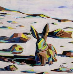 """Little Cottontail"" by Marla Allison (Laguna Pueblo)"