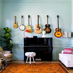 10 Ways to Decorate With Guitars That Would Make Taylor Swift Proud