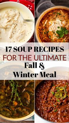Fall Soup Recipes, Crockpot Recipes, Cooking Recipes, Homemade Chicken Stock, Homemade Soup, Sweet Potato Soup, Roasted Sweet Potatoes, Winter Food, Fall Winter