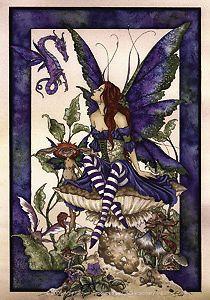 Under Garden Sticker - Amy Brown  Price $4.99