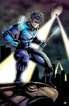 Nightwing by WiL-Woods.deviantart.com on @deviantART