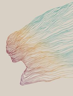 FADE Art Print by Huebucket | Society6 #art  #design #awesome #print  #poster  #color  #cool  #gift  #gift #ideas  #hipster  #funny  #Illustration  #threadless  #drawing  #girls  #beautiful #humor
