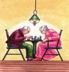 A month-by-month list of activities and games for seniors