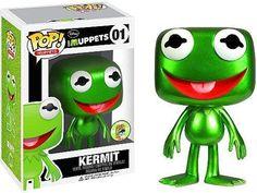 Kermit - The Muppets - Comic Con Exclusive - Funko Pop! Disney Pop, Disney Style, Funk Pop, Rocky Balboa, Pop Vinyl Figures, Billy Kid, Emo, Muppets Most Wanted, Funko Pop Dolls