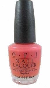 OPI Back to the Beach Peach Nail Polish NLK01