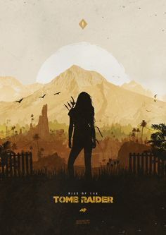 Rise of the Tomb Raider Art Print