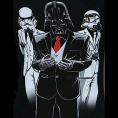 When you take the day off from running the #empire and take your #entourage with you. #darthfather #darthvader #sithsarebetter #squadgoals #starwars #waitingonepisodeviii #isitfridayyet #darthgeekster #stormtrooper #sithlife #vader #starwarsislife