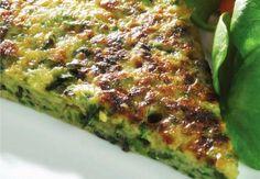 Cukkini omlett Vegetarian Recipes, Healthy Recipes, Healthy Food, Avocado Toast, Quiche, Zucchini, Food And Drink, Treats, Vegetables