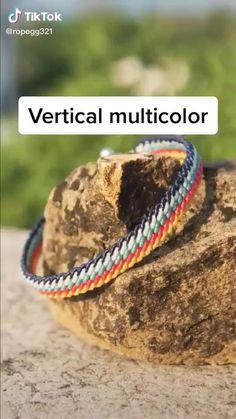 Diy Friendship Bracelets Tutorial, Diy Friendship Bracelets Patterns, Diy Bracelets Easy, Braided Bracelets, Bracelet Tutorial, Macrame Tutorial, Loom Bracelets, Macrame Bracelets, Crochet Beaded Bracelets