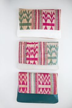 Image of limited edition clutches | bright laotian
