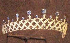 Antique Tiara, Luxembourg (sapphires, diamonds).