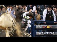 PBR's Justin McBride flips off Air Time