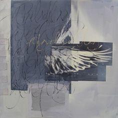 Kalligrafie . Birgit Nass - FLÜGELSCHLAG