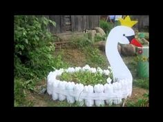 How to Make Swan of Tires - YouTube
